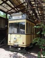 Sehnde bei Hannover/349131/tw-t24-nr-5964-aus-berlin TW T24 Nr. 5964 aus Berlin, Bj 1924, Hersteller Hawa befindet sich in Sehnde/Wehmingen am 15.06.2014.