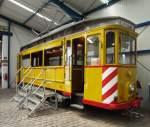 Sehnde bei Hannover/349990/fahrschulwagen-t-2-nr-350-hersteller Fahrschulwagen T 2 Nr. 350; Hersteller Herbrand, Baujahr 1900, ehemals Kiel, im Straßenbahnmuseum Sehnd/Wehmingen am 15.06.2014.