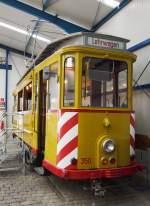 Sehnde bei Hannover/350677/fahrschulwagen-t2-nr-350-von-herbrand Fahrschulwagen T2 Nr. 350 von Herbrand, Baujahr 1900, war in Kiel eingesetzt, jetzt im Straßenbahnmuseum Sehnde/Wehmingen am 15.06.2014.